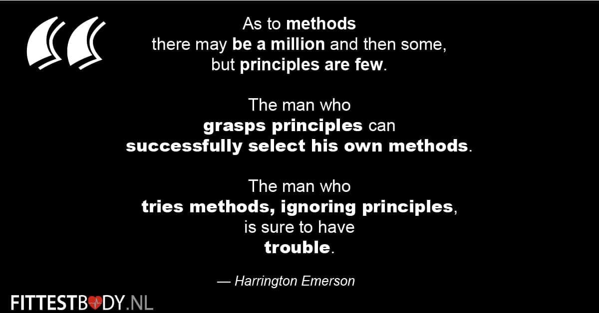 4 Principes voor het boeken van de meeste progressie 5